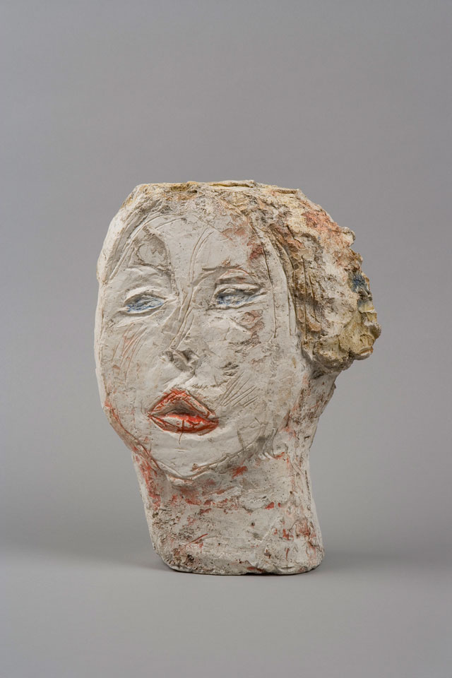 Alberto Giacometti. Head of Woman [Flora Mayo], 1926. Painted plaster, 