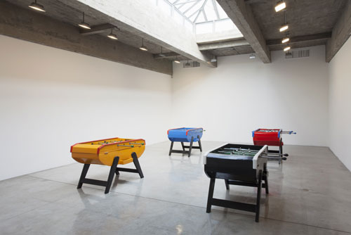 Meschac Gaba: Exchange Market. Installation view (1), Tanya Bonakdar Gallery, New York, 26 April - 7 June 2014.