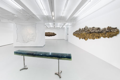 Vibha Galhotra. Absur-City-Pity-Dity, 2015. Installation view, Jack Shaman Gallery, New York.