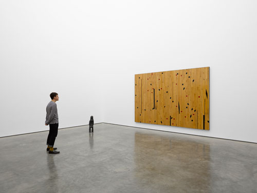 Theaster Gates. Freedom of Assembly, installation view 2. © Theaster Gates. Photograph © White Cube (George Darrell).