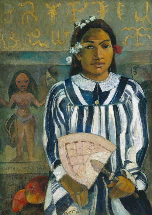 Paul Gauguin. <em>Teha 'amana has many Parents</em>, 1893. Oil on canvas. Art Institute of Chicago, USA. © Art Institute of Chicago, USA.