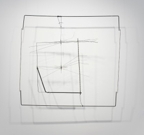 Gego. Dibujo sin papel 85/18 (Drawing without paper 85/18), 1985. Metal and wire. Collection of Maria Cristina and Pablo Henning. Photograph: Peter Butler.