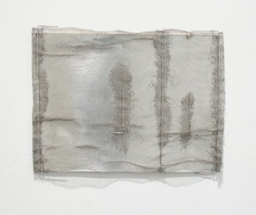 Gego. Dibujo sin papel 87/23 (Drawing without paper 87/23), 1987. Cardboard, mesh, and wire construction, 10 ½ x 13 ¾ in (26.5 x 35 cm). Private Collection. Photograph: Peter Butler.