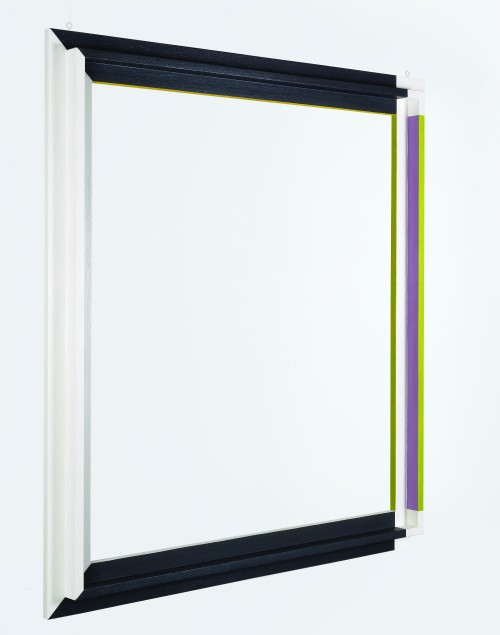 Gerd Leufert. Listonado (Ventana) (Strip [Window]), 1972. Acrylic on wood, 35 7/16 x 31 1/2 x 3 1/8 in (90 x 80 x 8 cm). Colección Patricia Phelps de Cisneros, New York and Caracas.