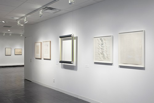 Installation view (2), Gego and Gerd Leufert: a dialogue. Photograph: Peter Butler.