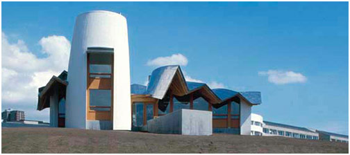 Maggie's Centre, Dundee by Frank Gehry.