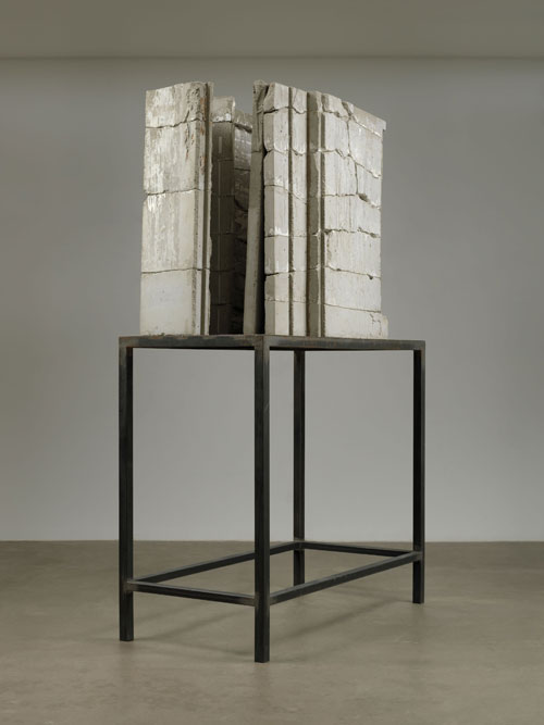 Isa Genzken. Bild (Painting), 1989. Concrete and steel, 263 x 160 x 77 cm. The Museum of Modern Art, New York. Gift of Susan and Leonard Feinstein and an anonymous donor. © 2012 The Museum of Modern Art, New York. Photo: Jonathan Muzikar.
