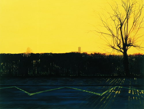 George Shaw. <em>Ash Wednesday: 8.30am</em>, 2004–5. 