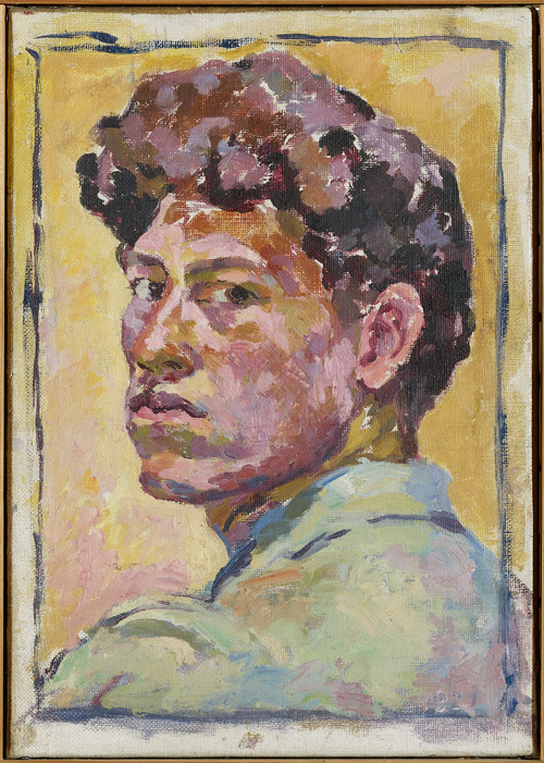 Small Self-portrait by Alberto Giacometti, 1921. Kunsthaus Zurich, Legat Bruno Giacometti © The Estate of Alberto Giacometti (Fondation Giacometti, Paris and ADAGP, Paris) 2015.