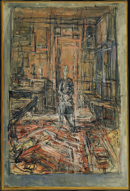 Alberto Giacometti. The Artist's Mother, 1950. The Museum of Modern Art, New York © 2015. Digital image The Museum of Modern Art, New York/Scala, Florence © The Estate of Alberto Giacometti (Fondation Giacometti, Paris and ADAGP, Paris) 2015.