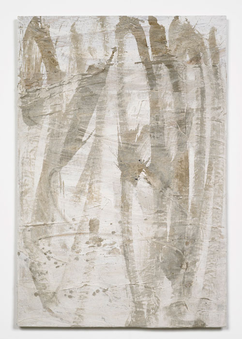 Lydia Gifford. Clip, 2015. Chipboard, gesso, ink, 104 x 70 x 4 cm. Courtesy Laura Bartlett Gallery, London.