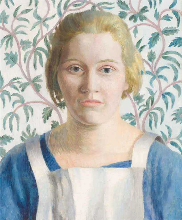 Dora Carrington. Annie, 1924. 48 x 37 cm. Noel Carrington; Joanna Carrington; Private collection. Image courtesy of The Fine Art Society.