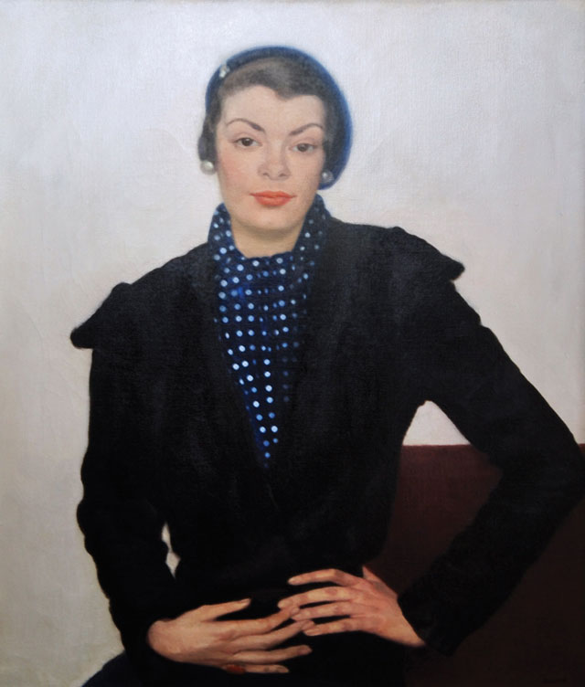 Gluck. Portrait of Miss Margaret Watts, 1932. Oil on canvas, 61 x 51 cm. Private collection. Image courtesy of The Fine Art Society.