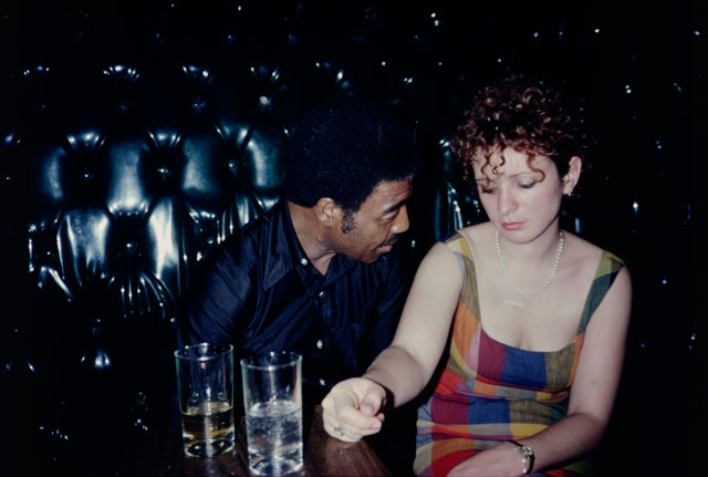 Nan Goldin. Buzz and Nan at the Afterhours, New York City, 1980. Silver dye bleach print, printed 2008, 15 1/2 x 23 1/4 in (39.4 x 59 cm). The Museum of Modern Art, New York. Purchase. © 2016 Nan Goldin.
