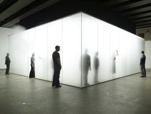 Antony Gormley. <em>Blind Light</em>, 2007. Copyright the artist. Photograph: Stephen White.