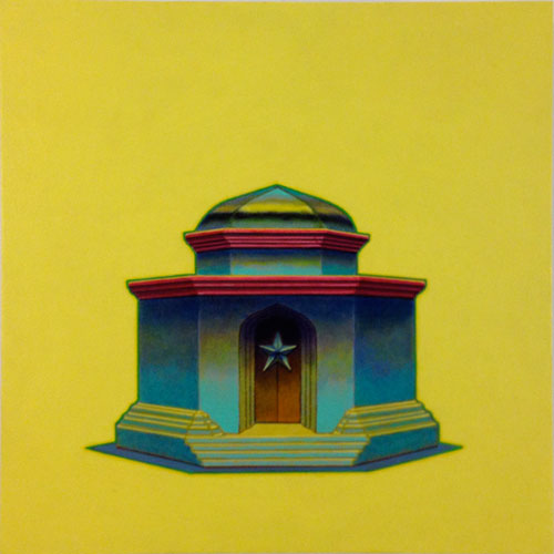 Jorge Benitez. Untitled 1, 2012. Oil on panel, 12 x 12 in.