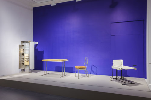 Installation view of the exhibition Eileen Gray Architect Designer Painter, Irish Museum of Modern Art, 2013, Photograph: Denis Mortell.