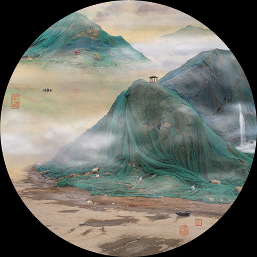 Yao Lu. <em>Spring in the City</em>, 2009. C-print, 120 x 120 cm. Courtesy the artist and Red Mansion Foundation.