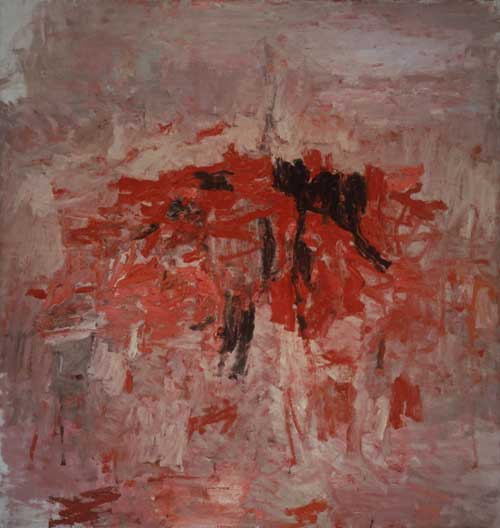Philip Guston, <i>For M</i>, 1955. Oil on canvas. 194 x 183.5 cm. San 