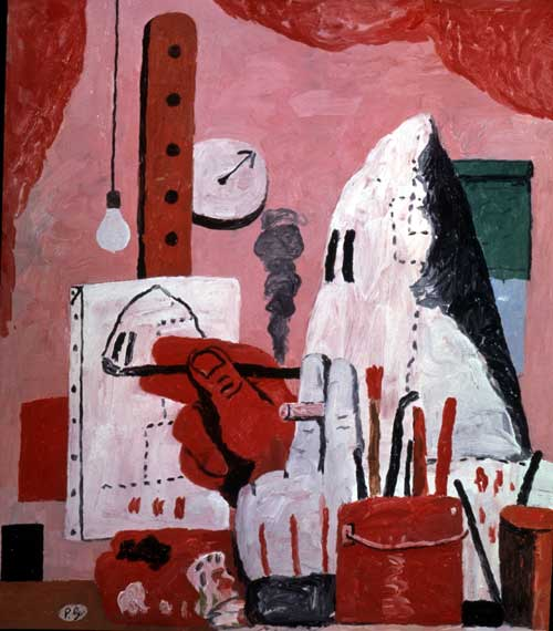 Philip Guston, <i>The Studio</i>, 1969. Oil on canvas. 121.9 x 106.7 