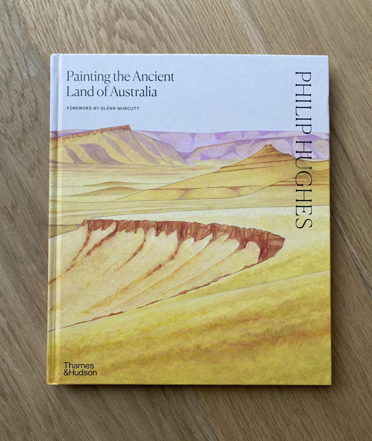 Painting the Ancient Land of Australia by Philip Hughes, with a foreword by Glenn Murcutt and an introduction by Jonathan Myers, is published by Thames & Hudson (Australia).