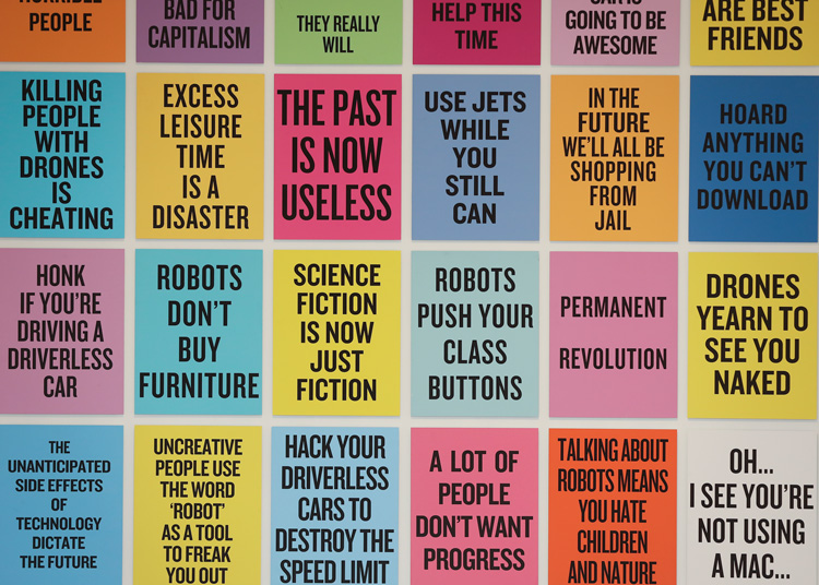 Douglas Coupland, Slogans for the 21st Century.