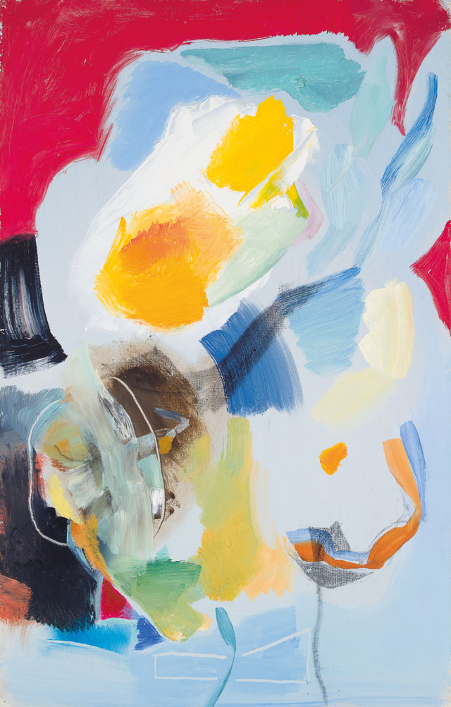 Ivon Hitchens, Spring Glory, 1973. Oil on canvas. Private collection, image courtesy Candida Stevens Gallery © The Estate of Ivon Hitchens.
