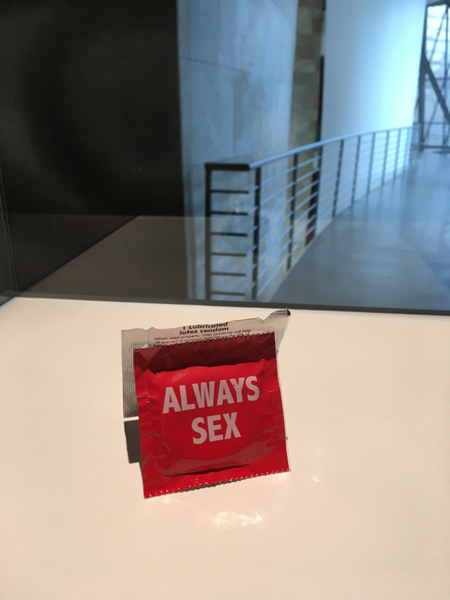 Installation view, Jenny Holzer: Thing Indescribable, Guggenheim Bilbao, 2019. Photo: Veronica Simpson.