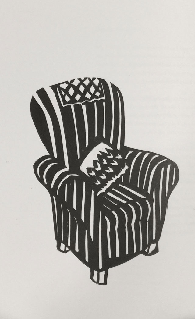 Sophie Herxheimer. Grandmothers Chair. © the artist.