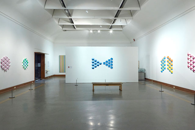Zarah Hussain, Symmetry in Sculpture, Birmingham Museum and Art Gallery, May - November 2014. Installation view.