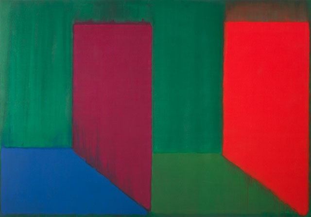 John Hoyland. 7.11.66, 1966. Acrylic on canvas, 84 x 120 in (213.4 cm x 304.8 cm). © The John Hoyland Estate. All