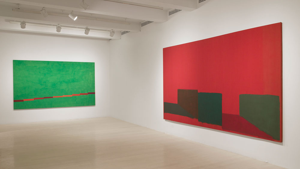 This, the first New York exhibition of John Hoyland's work in 25 years, brings together seven of his monumental stain paintings along with works on paper. Don't miss it