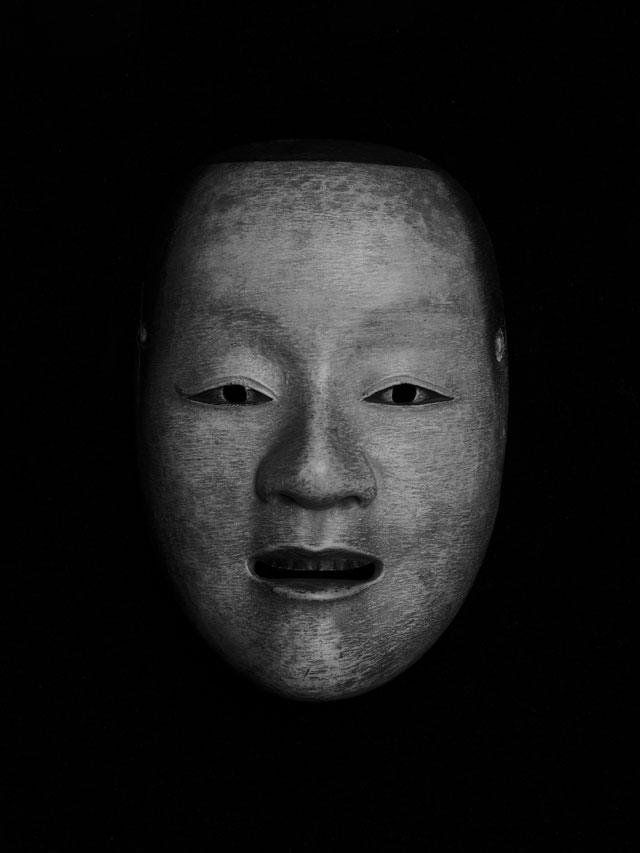 Hans Hansen. Untitled (Noh-Mask), 2009, Museum Folkwang Collection. © Hans Hansen.
