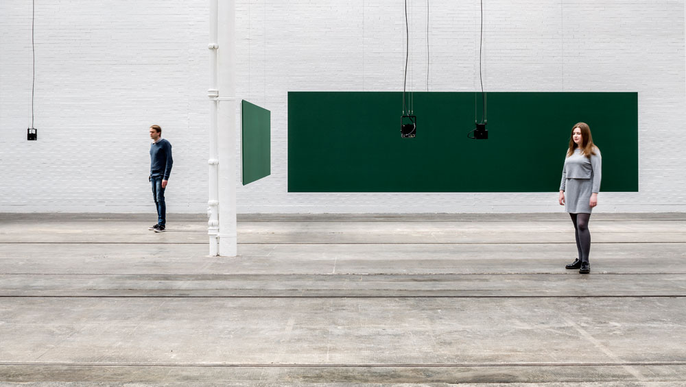 Florian Hecker manipulates digital sound and our perception of it in this installation commissioned for Tramway
