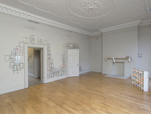 Nicky Hirst. Real Size, installation view. Courtesy the artist and Domobaal. Photograph: Andy Keate.