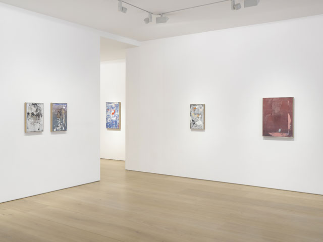 Secundino Hernández: Paso, installation view, Victoria Miro Gallery, Mayfair, London. Photograph: Jack Hems.