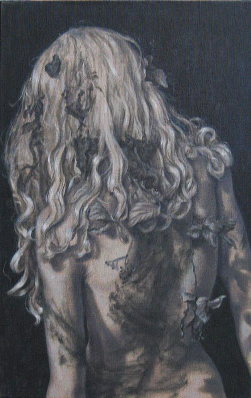 Roxana Halls. Back II, 2010. Oil on linen, 70 x 45 cm. © the artist.
