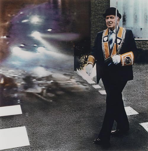 Richard Hamilton, <em>The Apprentice Boy</em>, 1987. Dye transfer (ed. 12) 48.8 x 48.8 cm (image); 64 x 63 cm (sheet) © Richard Hamilton