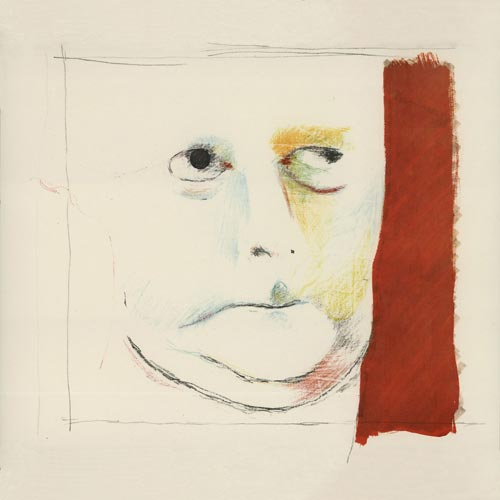 Richard Hamilton, <em>Portrait of Hugh Gaitskell as a Famous Monster of Filmland - Facsimile</em>, 1982. Collotype 38.5 cm x 37.5 cm (sheet) &copy; Richard Hamilton