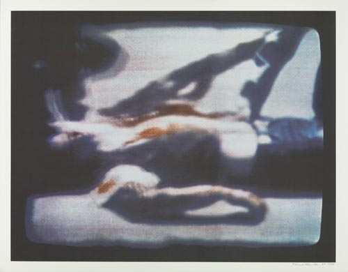 Richard Hamilton, <em>Kent State</em>, 1970. Screenprint from 13 stencils (ed.5000) 67.3 x 87 cm (image); 73 x 102.2 cm (sheet) &copy; Richard Hamilton