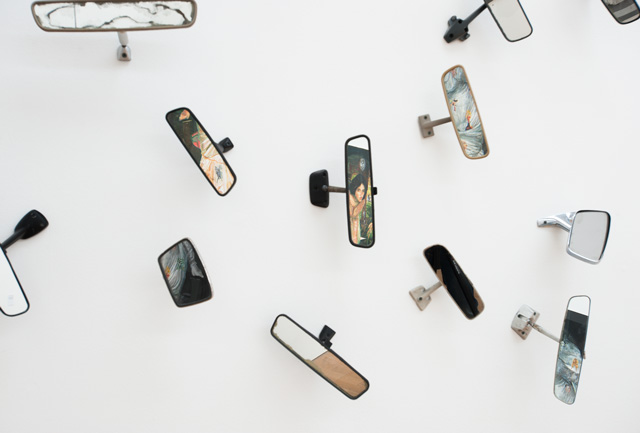 Installation view (4) of Margaret Harrison: Accumulations, Middlesbrough Institute of Modern Art, 23 October 2015 - 24 January 2016. Photograph: Jason Hynes, courtesy of Middlesbrough Institute of Modern Art.