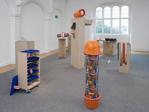 Emma Hart. Dirty Looks, installation view. © The artist. Courtesy, Camden Arts Centre, London. Photograph: Andy Keate.