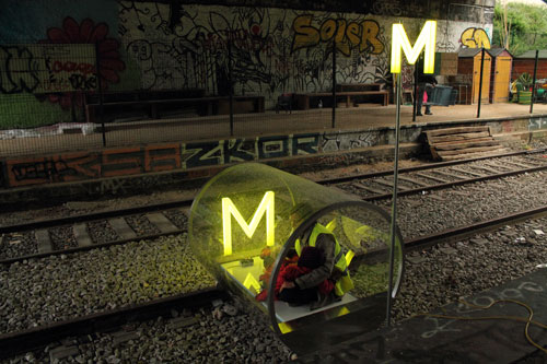 HeHe. Metronome, 2012. A transportation service for the Petite Ceinture in Paris.