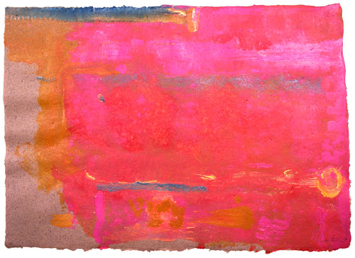 <p>Helen Frankenthaler. <em>Untitled,</em> 1991. Acrylic on paper, 64.14 x 88.9 cm (25¼ x 35 inches).