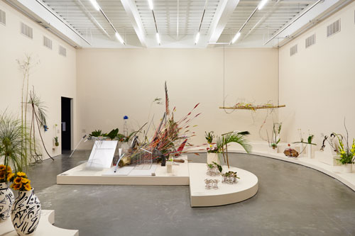 Camille Henrot: The Restless Earth. Installation view (1), New Museum, 2014. Courtesy New Museum, New York. Photograph: Benoit Pailley.