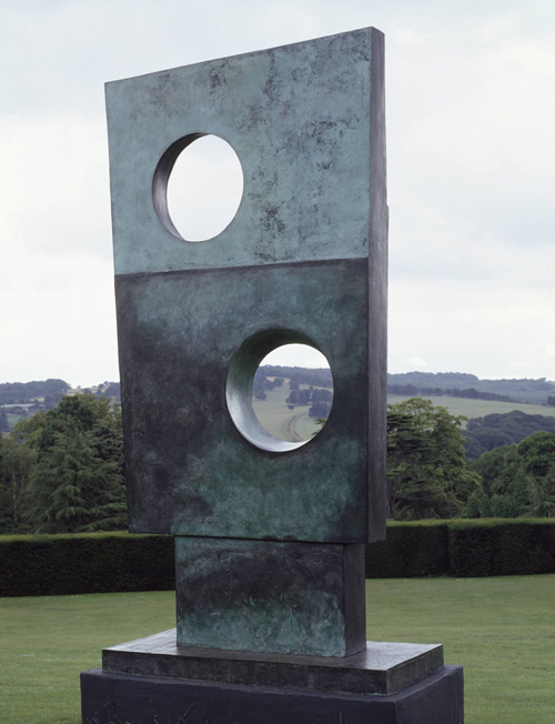 Barbara Hepworth. Squares with Two Circles, 1963. Tate. © Bowness.