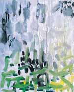 Patrick Heron (1920–99). Garden Painting, August 1956. Oil on canvas