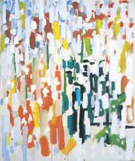 Patrick Heron (1920–99). Azalea Garden, May 1956. Oil on canvas