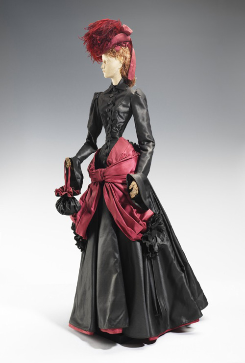 Marie-Blanche di Pietro (French, 1897–1958). <em>Doll (for gratitude train)</em>, 1949, for Lanvin (French, founded 1889). Metal, plaster, silk, feathers. The Brooklyn Museum Costume Collection at the Metropolitan Museum of Art.