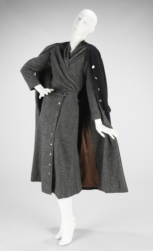 Vera Maxwell (American, 1901–1995). <em>Ensemble</em>, ca. 1958. American. Wool. The Brooklyn Museum Costume Collection at the Metropolitan Museum of Art.
